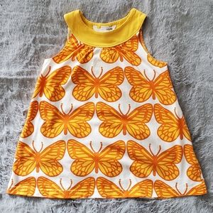 H&M Cotton Butterfly Dress Size 2